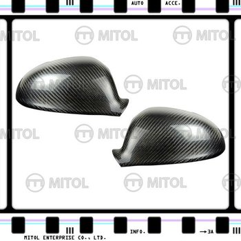 For VOLKSWAGEN GOLF 5 Carbon Fiber Car Mirror Cover Side Mirror Cover