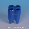 Ceramic tooth shape pen holder ,wholesale high quality table pen holder