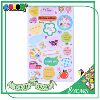 Best Selling Best Material Wholesale Price Self Adhesive Decorative Sticker Book Children