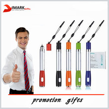 Multi-function Paper Roll Pen For Advertising Banner Pen New Design Led Pen with Roll Out Paper