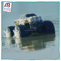 2.4Ghz Radio Remote control 4WD High Speed RC Car Toy On Land And Water