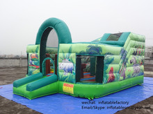 GM15121501 good quality jugle theme bounce house for rent