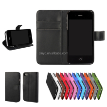 for iphone4 case cover, mobile phone cover case for iphone 4s with cards slots holder