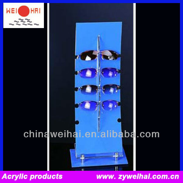 acrylic electric rotating display stand