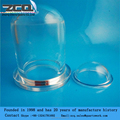 Clear Quartz Glass Hemisphere Ball for semiconductor industry 50*1
