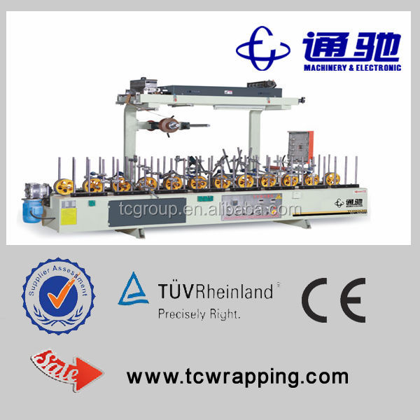 pvc film faced shuttering plywood laminating machine