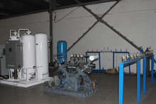 China made top quality oxygen/O2 cylinder filling plant