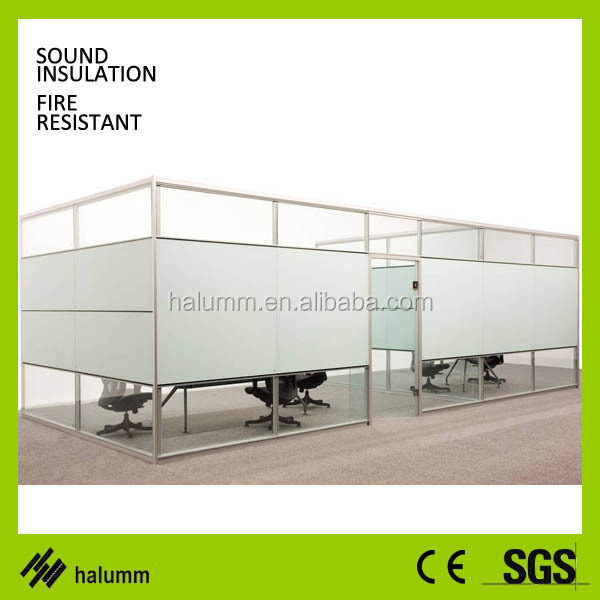 glass cubicle partition wall foldable sound proof partition, View ...