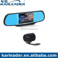 5 Inch Dual Camera Car Rear View Mirror DVR with Wifi Bluetooth GPS Android System