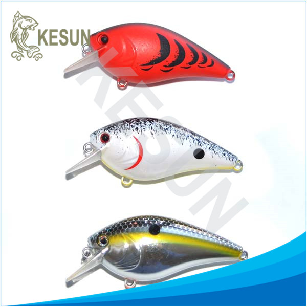 Warehouse sell floating micro crankbaits crankbait for bass kesun for esox bass