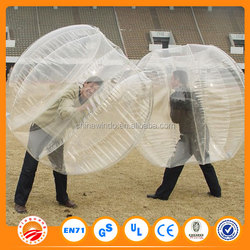 2015 New Product Loopy Ball Loopyball Bubble Soccer Blue or yellow color dot for kids and adults for events