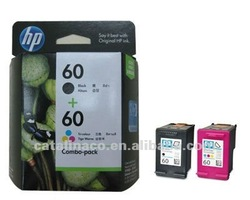 Genuine HP No.60 Black & color Ink Cartridge Combo Pack CN067A (cc640w cc643w)