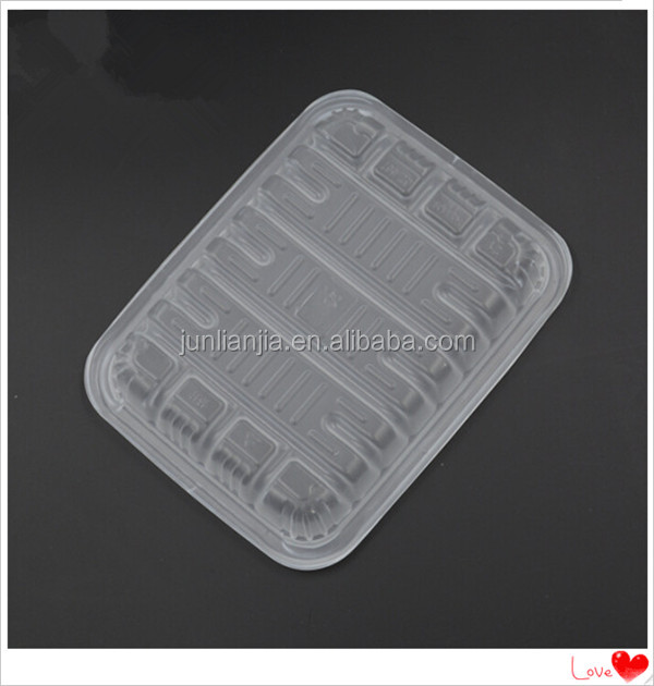 PS PET PP Vacuum forming frozen food container plastic meat tray fruit tray