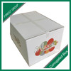 vegetable fruit carton box with logo wholesale
