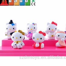 cartoon japan anime hello kitty figure toys in ICTI approved manufacturers