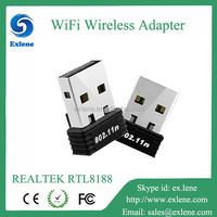150Mbps Mini usb adapter Realtek RTL8188 wireless network card for laptop