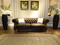 New Designed Neoclassical Leather Sofa made With Pull-up Leather
