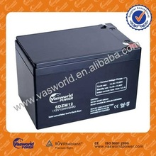 wholesale 12V12ah motor battery/AGM lead acid battery/deep cycle battery for ups