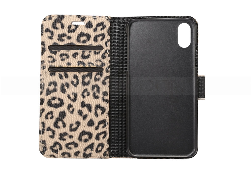 Leopard Leather Wallet Flip Cover Case for iPhone 8/7/7 plus/6/6S/6S Plus/5S