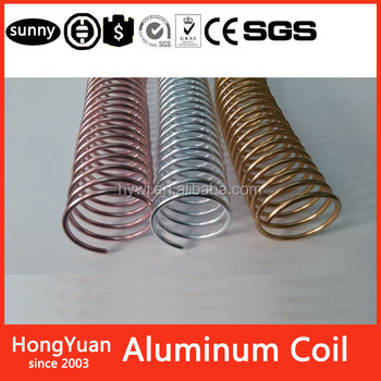 "Office & School Supplies>>Other Office & School S1/2"" Metal Spiral Coil Binding Supply - Aluminum - by BindingStuff - Binds Easy"