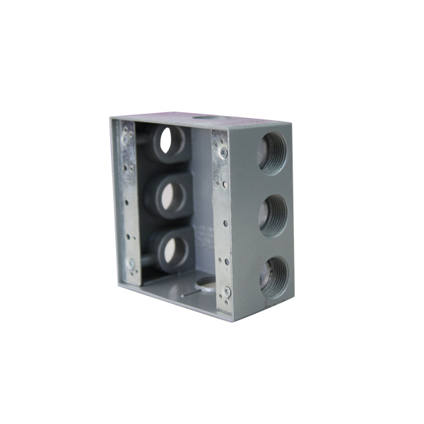 Rigid Weatherproof Electrical motorcycle aluminum box