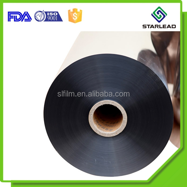 Aluminum coated metallized PVC film 20mic to 300mic for lamination and decoration