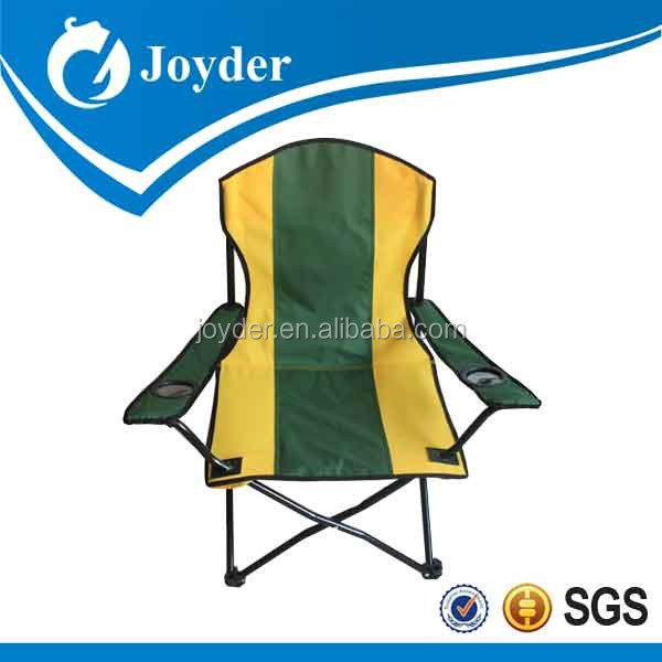 camping canvas folding chairs with armrest