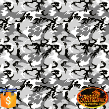 Hot Sale Dazzle Graphic Camouflage Hydrographic Film No.DGDAS405 Car Decorate Camouflage Water Transfer Printing Film