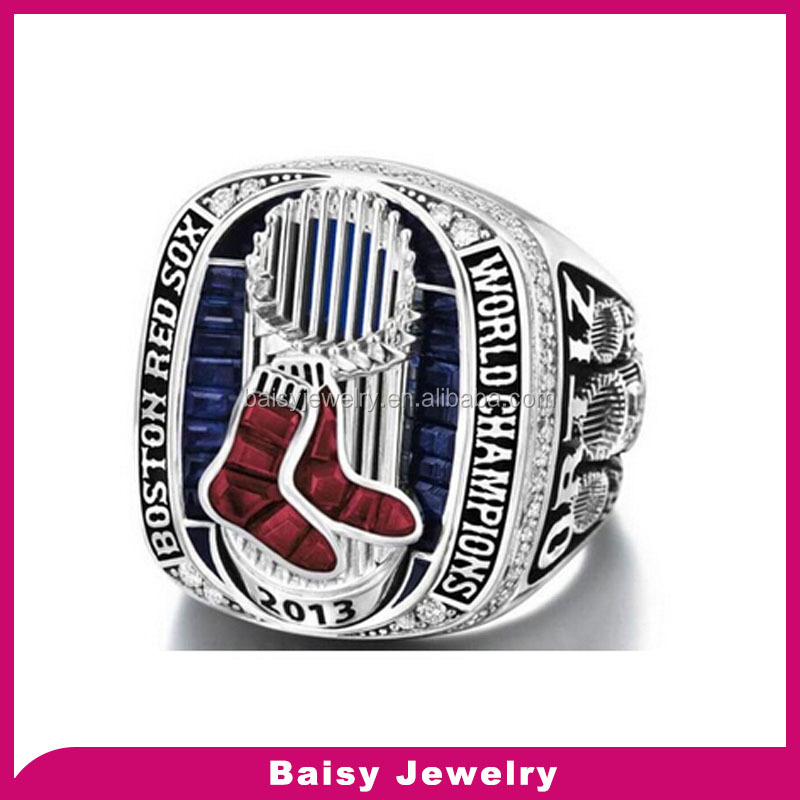 Wholesale manufacturer cheap custom red sox replica championship rings