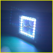 "RGB Cube Led pods lights 3"" 4x4 mini truck car led decorative light"
