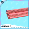 OFC Speaker Cable With Transparent Red