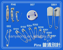 brooch Safety pin_ FH122_ Safety bar pin