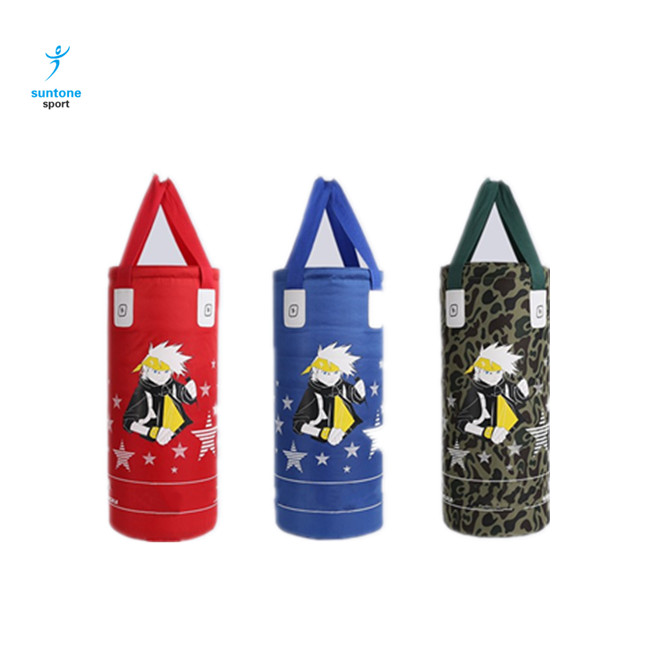 Wholesale Sandbag PU Kicking Boxing Punching Bag Cover for TrainingSH620