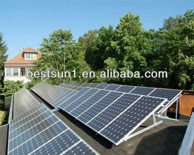 15KW High quality off grid auto switch commercial CE TUV proved instruments of solar system