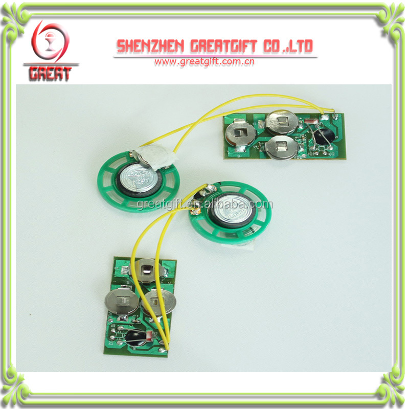 greeting card sound module,recordable sound module for greeting cards,greeting card voice recorder module