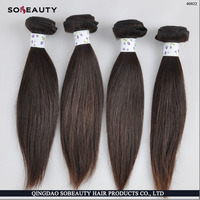Factory Wholesale Price Tangle Shedding Free beauty elements human hair