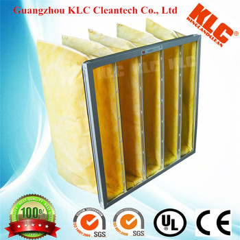 European standard galvanized steel frame bag filter