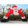 Christmas Decoration Archway Xmas Holiday Supplies Santa Claus Inflatable Christmas Arch