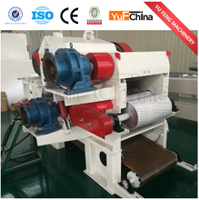 Yufchina supplying wood drum chipper mobile wood drum chipper