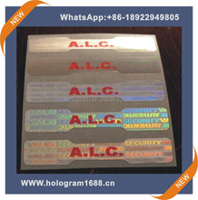 Customized security foil hologram ribbon with best quality