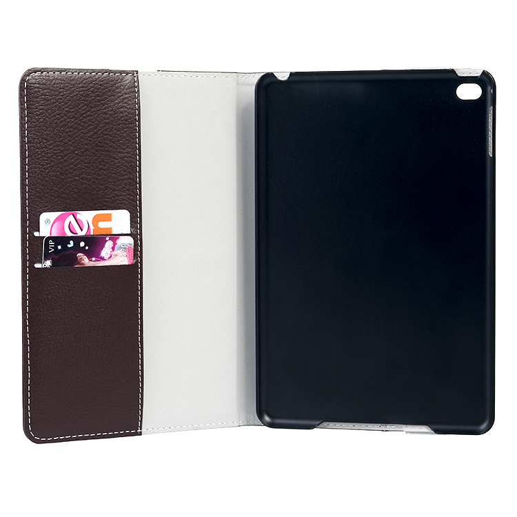 Hand Cord Folio Book Case and Stand for iPad mini 4