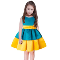 OEM brand name fashion design kid girl prom dress
