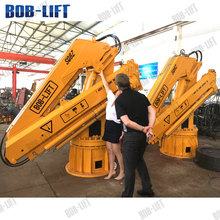Offshore pedestal crane small marine deck cranes manufacturers for sale