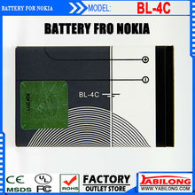 China Supplier Full Capacity 860mAh Lithium BL-4C Mobile Phone Battery for Nokia 2228/ 2650/ 2652/ 2690/ 2692/ 3108/ 3500c/ 6066