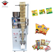 Automatic Vertical Powder Particles Weighing Filling Three Sides Sealing Packaging Machine For Tea Pouch,Seed,Seasoning,Food