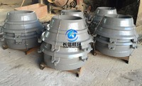 Manganese Steel cone crusher bowl liner, cone crusher concave and mantles