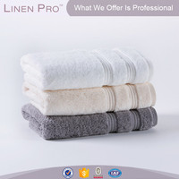 Polyster Microfiber Brush Fabric 5 star hotel border jacquard towel 100% cotton,cotton towel 100% hotel