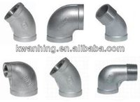stainless steel thread casting pipe fittings