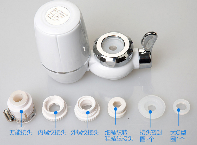 Portable tap water filter/faucet water purifier with uf membrane for promotion