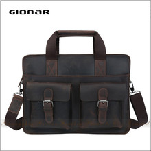 Online Shopping Genuine Leather Tool Box Bag Executive Briefcase for Men